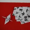 Kép 2/2 - Origami - daru madaras kiegészítő, ajándék