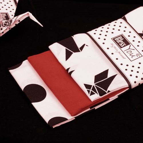 Origami - daru madaras kiegészítő, ajándék